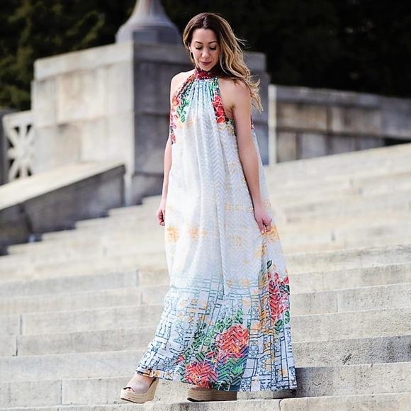 06765ce0c9be Anthropologie Dresses   Htf Nwt Bhanuni Marilla Maxi Dress   Poshmark